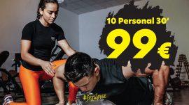 10 Συνεδρίες Personal Training 30′ 99€