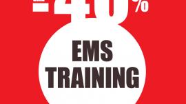 EMS Training με Έκπτωση 40%