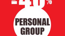 Personal Group Training με Έκπτωση 40%