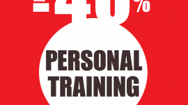 Personal Training με Έκπτωση 40%