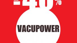 Vacupower® με Έκπτωση 40%