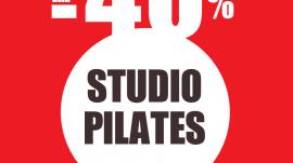 Pilates Studio με Έκπτωση 40%